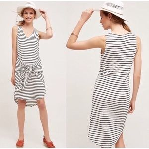 Dolan for Anthropologie Tie Front Tank Dress Small
